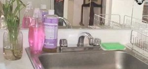 Create a kitchen sink backsplash