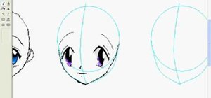 Draw anime eyes in MS Paint