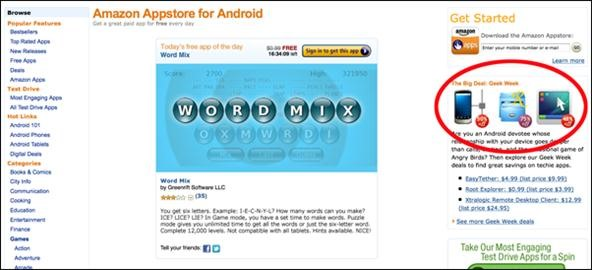 Amazon's Geek Week Slices Prices on 8 Useful Apps for Android