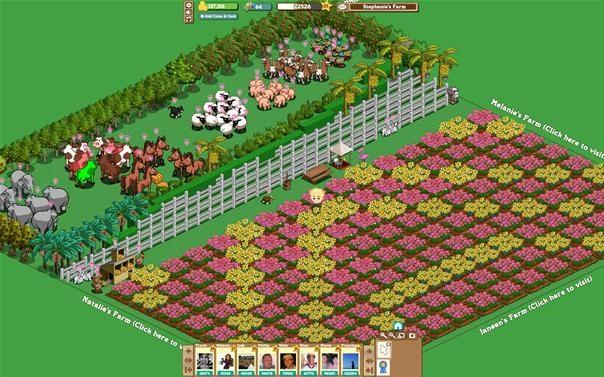 FarmVille Farm-Art - Make Your Farm Look Like This