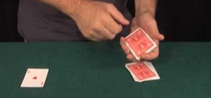Present the same effect 3 different ways when performing card tricks