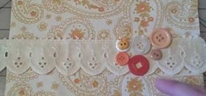 Embellish your clothes and accessories with buttons