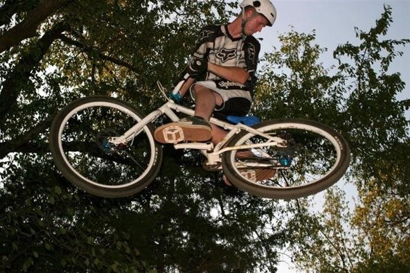 Action Shot Challenge: Bike Jump
