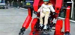 Child-Size BattleMech Suit Strikes Fear into Hearts of Kindergarten Teachers