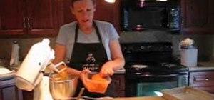 Bake a carrot cake