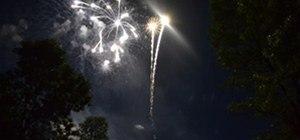 Fireworks Photography Challenge: Haley's Comet