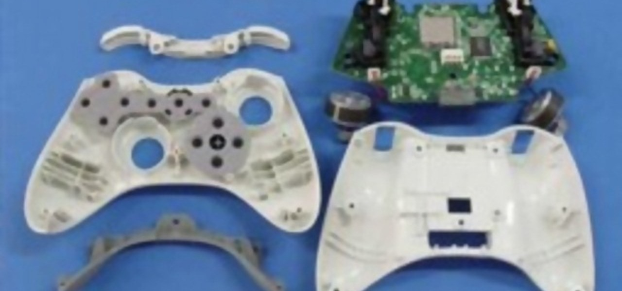 how to take apart an xbox 360 wireless controller for repair xbox rh xbox 360 wonderhowto com Tear Down Xbox 360 Controller Xbox 360 Controller Repair