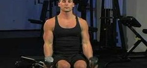 Do seated dumbbell hammer curls