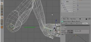 Model arm muscles in MAXON Cinema 4D