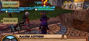 Walkthrough Ravenwood teachers in Wizard101