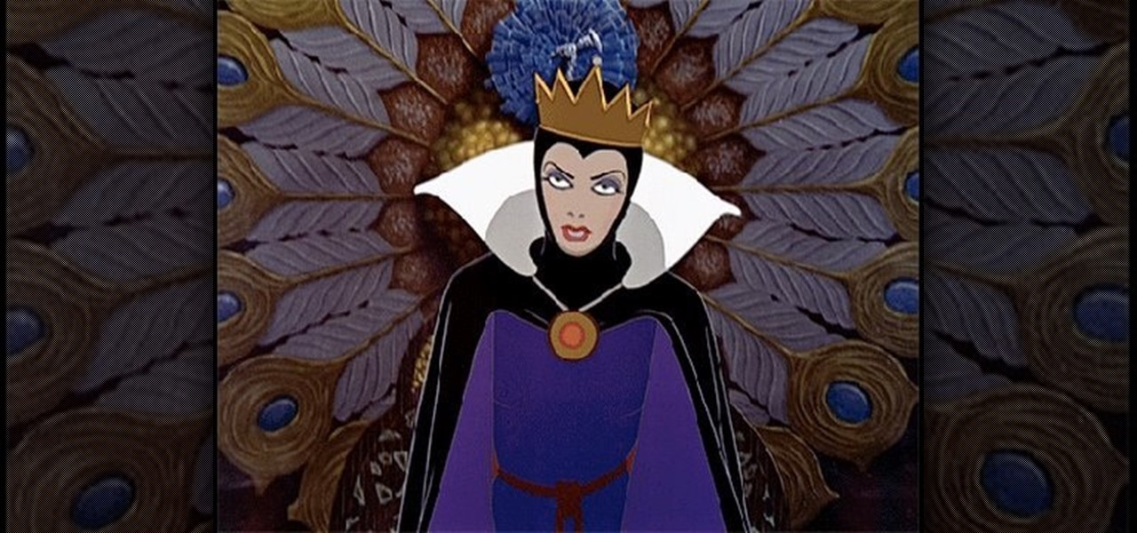 How to Create the Evil Queen's wart-y