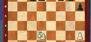 Use the overworked defender tactic in a game of chess