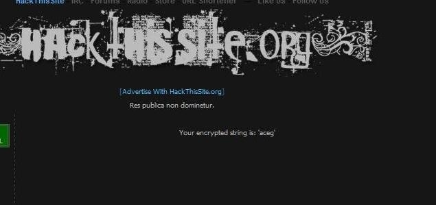 How to Hack a Site Knowing a Bit of HTML (hackthissite.org) Part 2