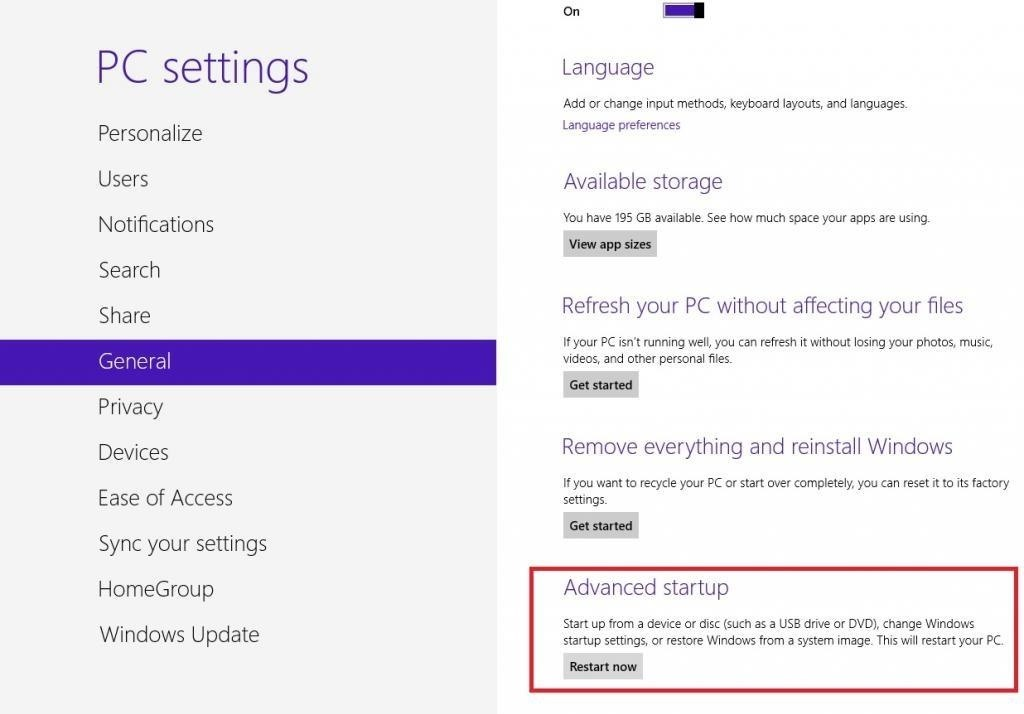 How to Boot Windows 8 into Safe Mode