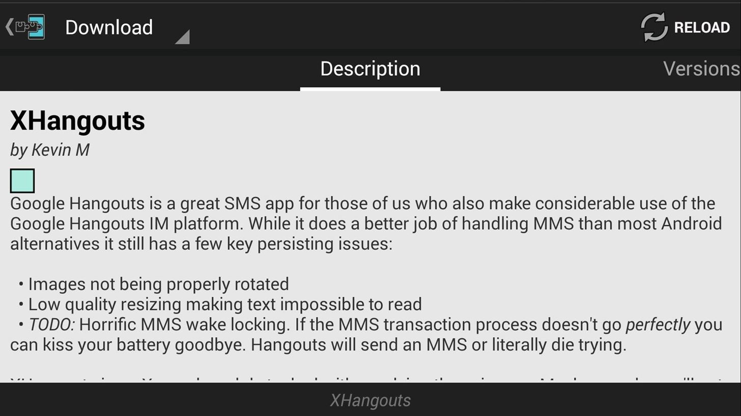 Improve Picture Quality for MMS Messages in Hangouts