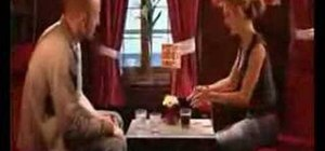 Perform a mirror bet bar trick to win a free drink