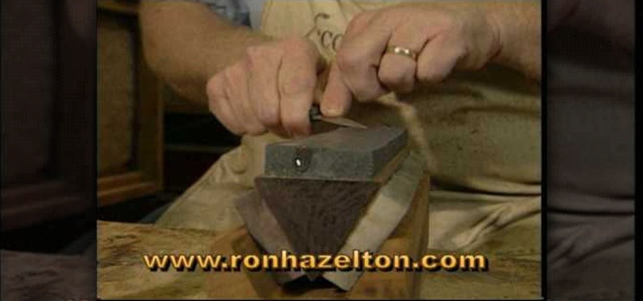 wood carving knife sharpener