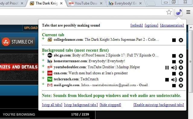How to Find and Shut Up Those Annoying Music or Video-Playing Tabs in Your Browser