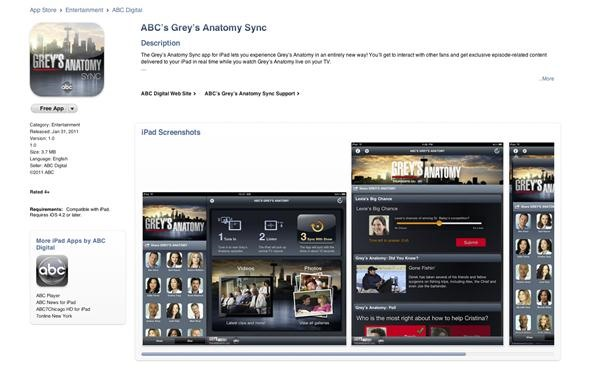 How to Use the Grey's Anatomy Sync App for iPad to View Interactive Content