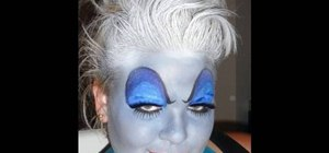 "Create Ursula the sea witch's look from ""A Little Mermaid"" for Halloween"