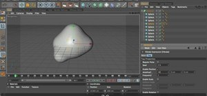 Create a blob effect with MAXON Cinema 4D