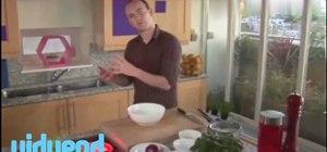 Make an onion relish