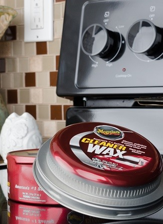 Car Wax: The Secret Ingredient to an Easy-to-Clean Stove