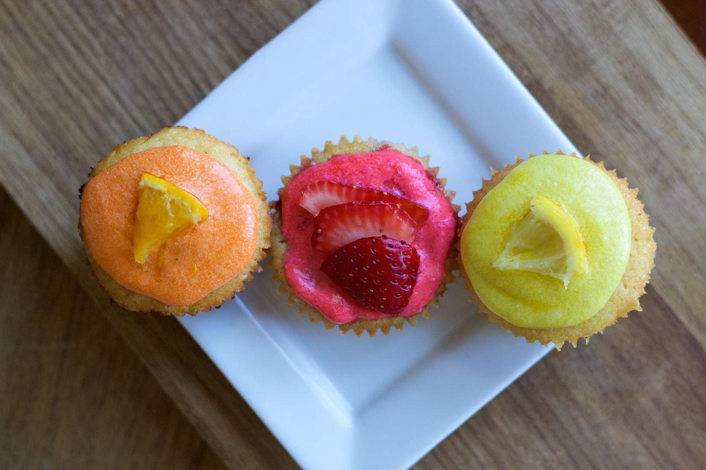 One Versatile Cupcake Recipe... Three Fruity Variations