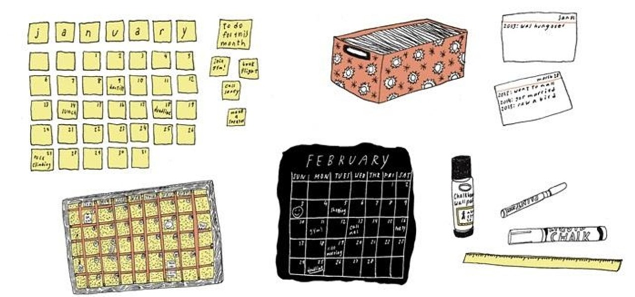 Secret Garden: 5 Cool DIY Calendar Ideas For 2013 « The Secret Yumiverse