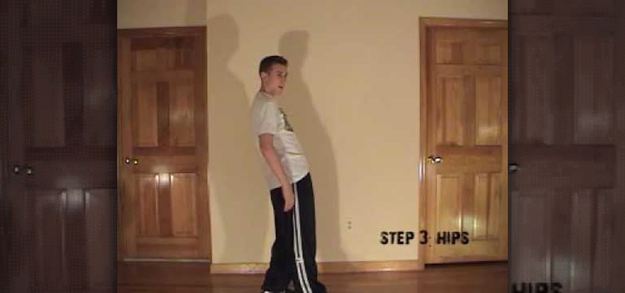 Dance Body Wave X on Square Dance Basic Steps