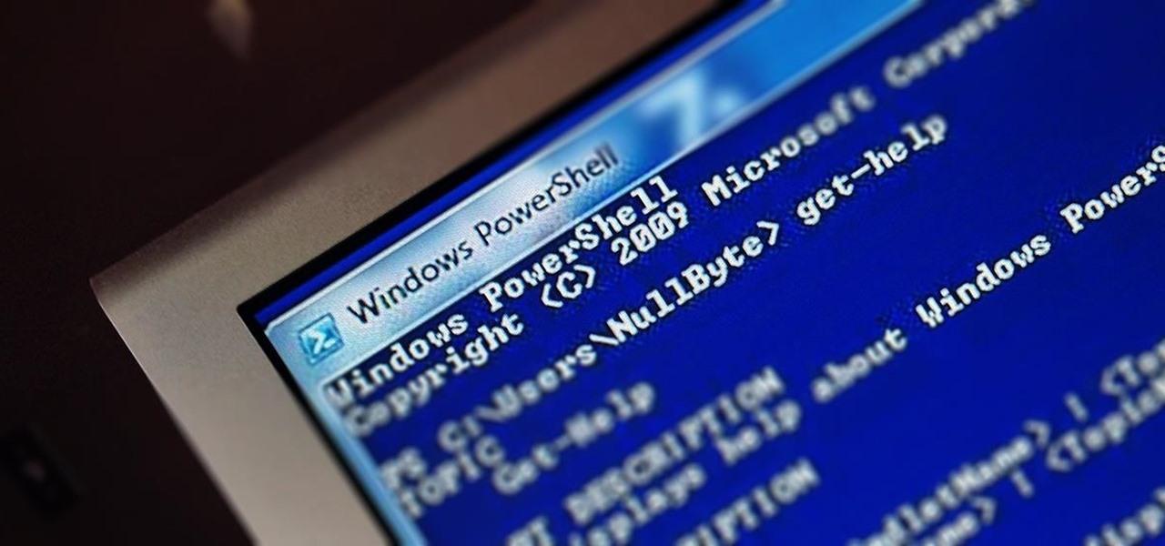 Scripting for the Aspiring Hacker, Part 3 (Windows PowerShell)