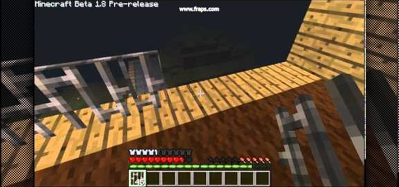 how to make a iron stand in minecraft