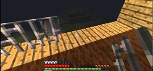 Craft iron ingots into iron bars and make a fence in Minecraft 1.8 pre-release