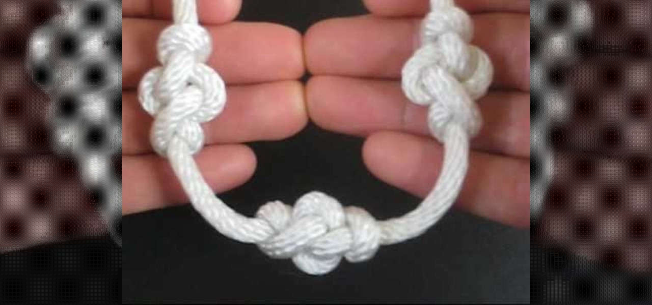 How to tie the eternity knot to decorate a rope or string sewing how to tie the eternity knot to decorate a rope or string sewing embroidery wonderhowto ccuart Image collections