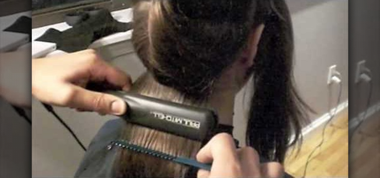 How To Get Hair Super Straight With A Flat Iron