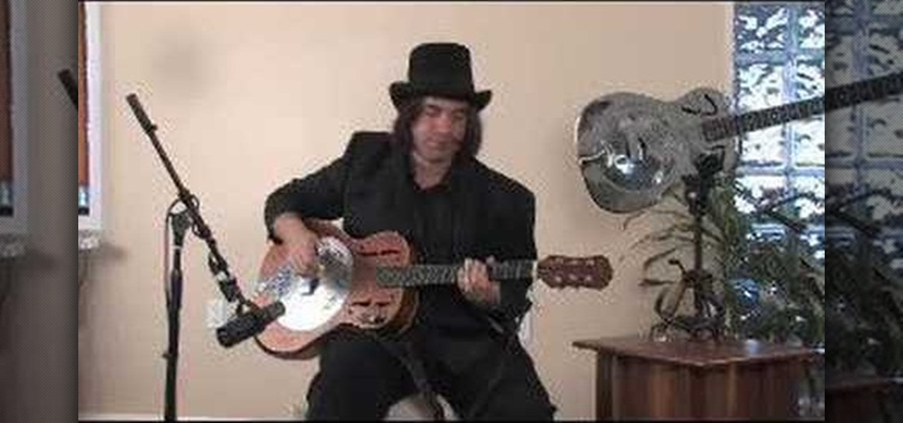 How To Play A Delta Blues Style Progression On Resonator Guitar Acoustic WonderHowTo