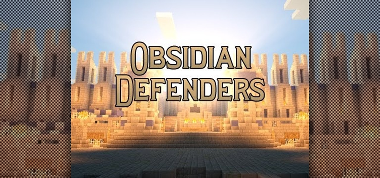 Obsidian Defenders (1.3.1 PvP Map)