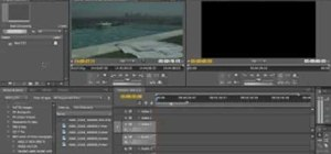 Edit Red One Camera Footage with CS4 Premiere