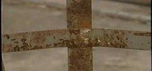 Repair rusted metals