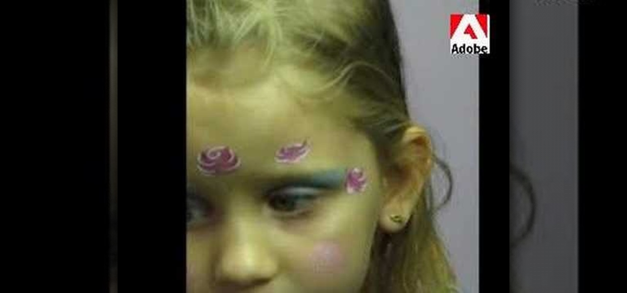 How to apply rose princess face paint kids activities for How to apply face paint