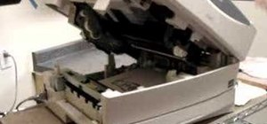 Transfer printer toner to your ceramic work