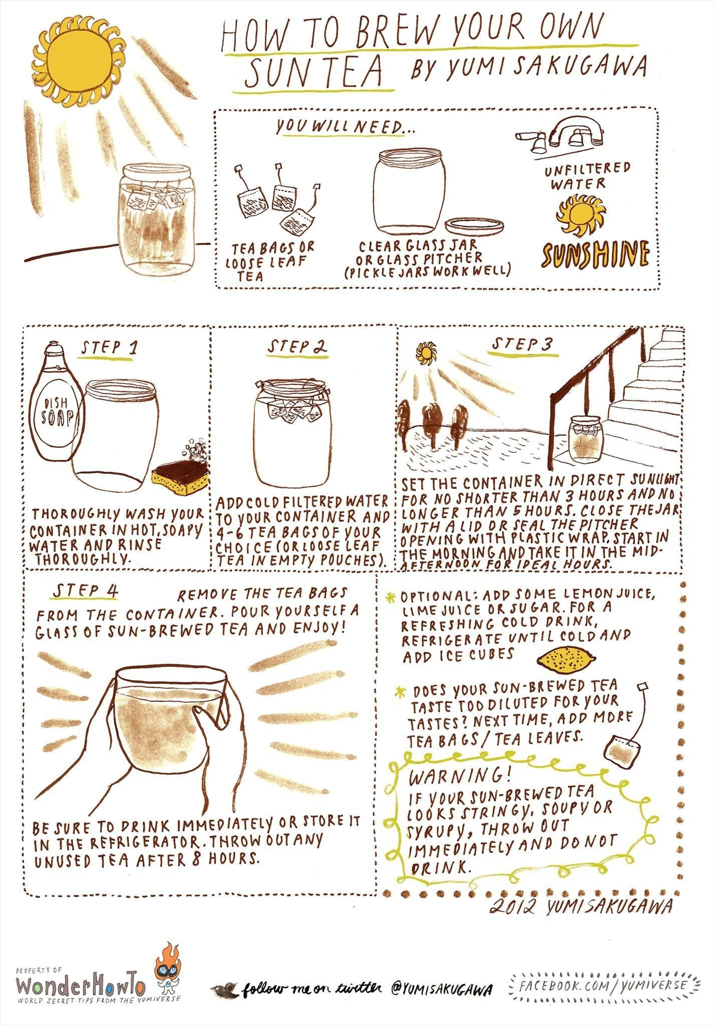 How to Brew Your Own Sun Tea