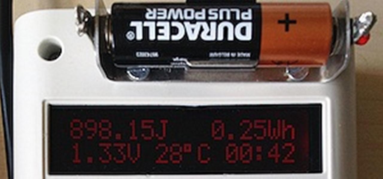 Diy Arduino Battery Tester Reveals The Secret Capacity Of