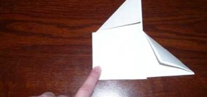 Make a spinner out of a piece of paper