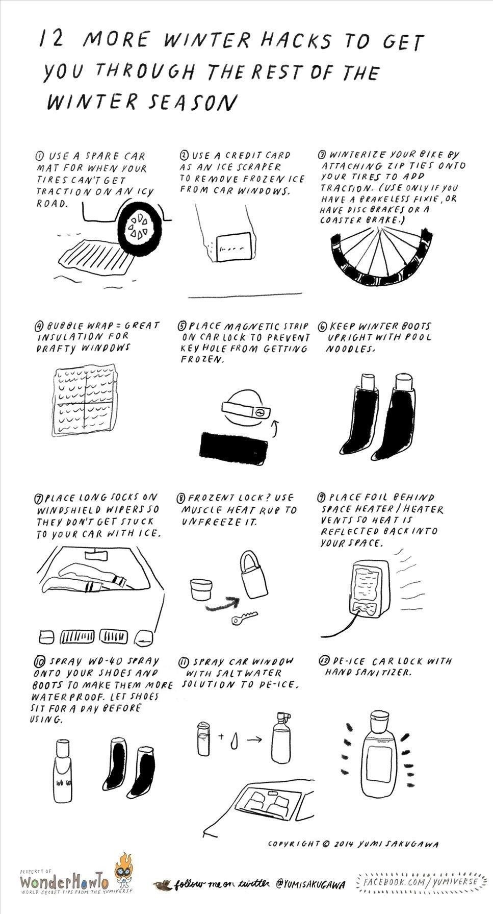 12 More Cold Winter Hacks to Get You Through the Rest of the Winter Season