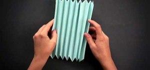 Fold a cool origami hedgehog