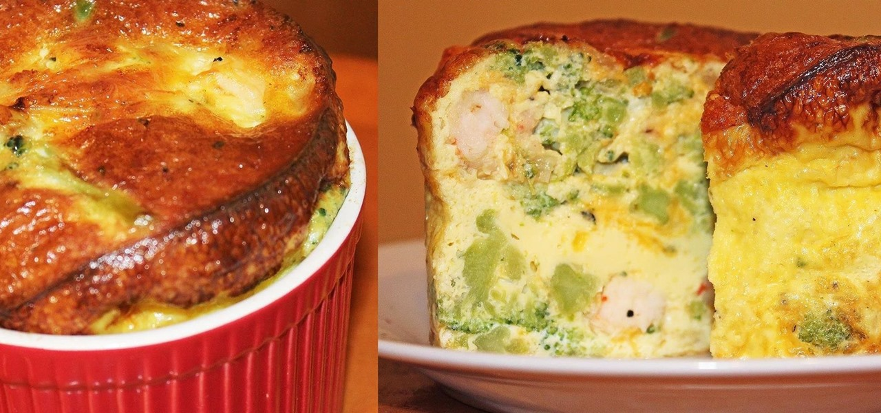 This Quiche/Soufflé Hybrid Is Both Easy & Delicious