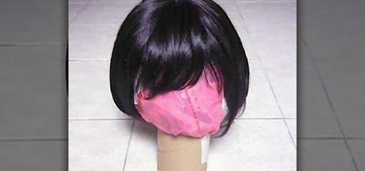 Homemade Wig Stand 82