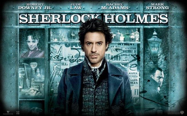 Sherlock holmes movie list