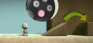 Use controls in Little Big Planet for PS3